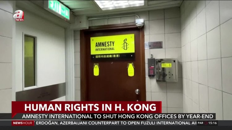 Amnesty International to shut Hong Kong offices by year-end