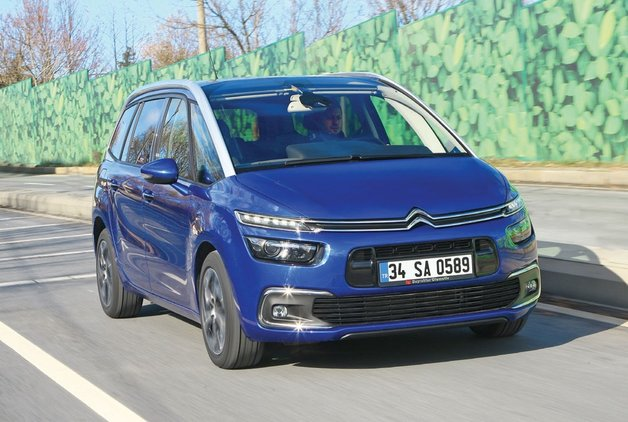 TEST · Citroen Grand C4 Picasso 1.6 BlueHDi EAT6