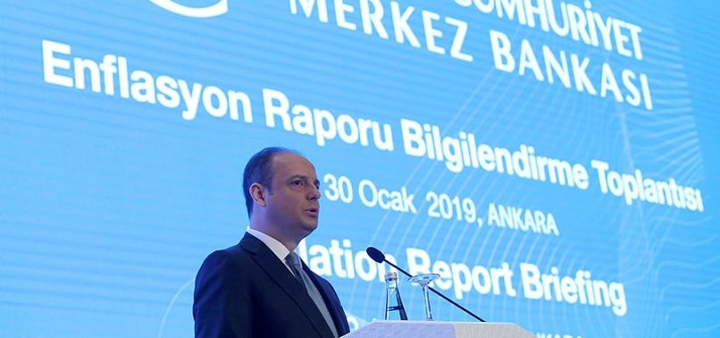 TURKISH CENTRAL BANK LOWERS INFLATION FORECASTS