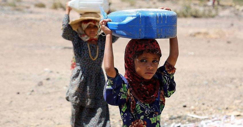 Yemenli kız çocukları eğitimden mahrum