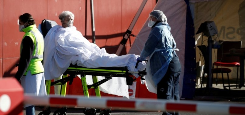 RATE OF FRANCE CORONAVIRUS DEATHS ACCELERATES FOR THIRD DAY