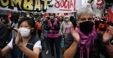France: Protesters confront Macron, chant 'Resign!'