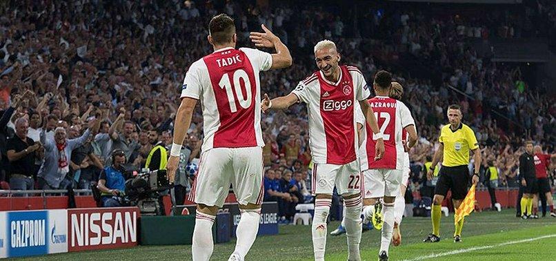 UEFA BANS AJAX, EINTRACHT TICKET SALES FOR FAN DISORDER