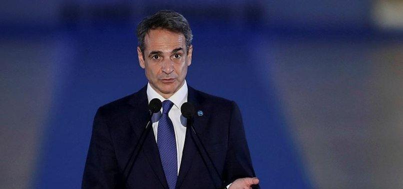 GREEK PM MITSOTAKIS CALLS TURKEY A KEY PARTNER ON MIGRATION CHALLENGE TO EUROPE