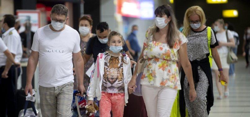 TOURISTS IN ANTALYA SEE TURKEY AS SAFE HAVEN AMID VIRUS