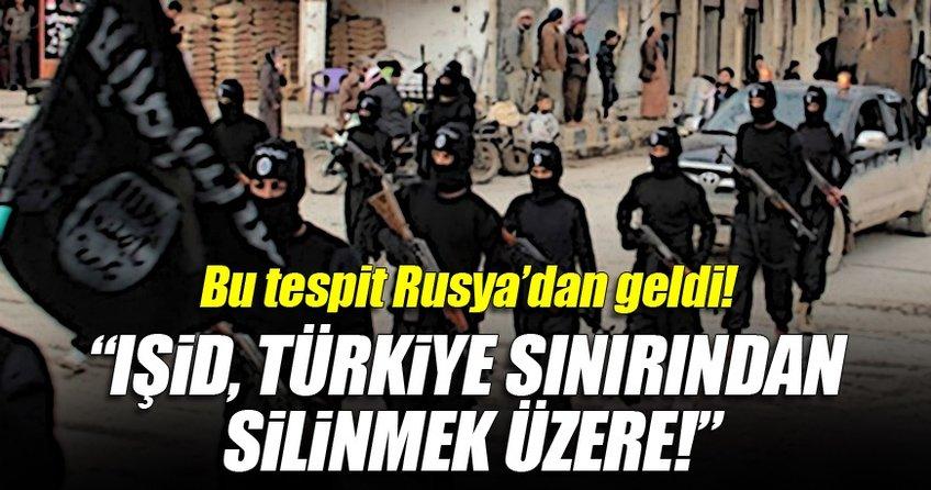 Rus medyası: IŞİD Türkiye sınırından silinmek üzere