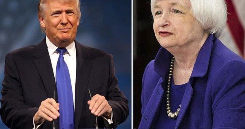 Trump-Yellen kapışması doları zıplattı