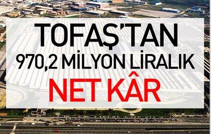 Tofaştan 970,2 milyon liralık net kâr
