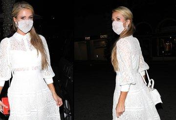 Paris Hilton'un maskesi tehlike yarattı