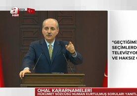 Bakanlar Kurulu'nun ardından Numan Kurtulmuş'tan önemli açıklamalar