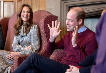 Prens William ve Kate Middletonın Bradford ziyareti