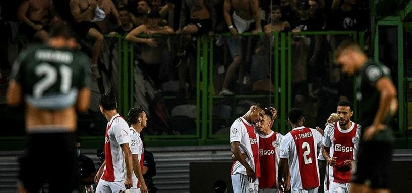 HALLER SCORES FOUR AS AJAX GO ON THE RAMPAGE IN LISBON