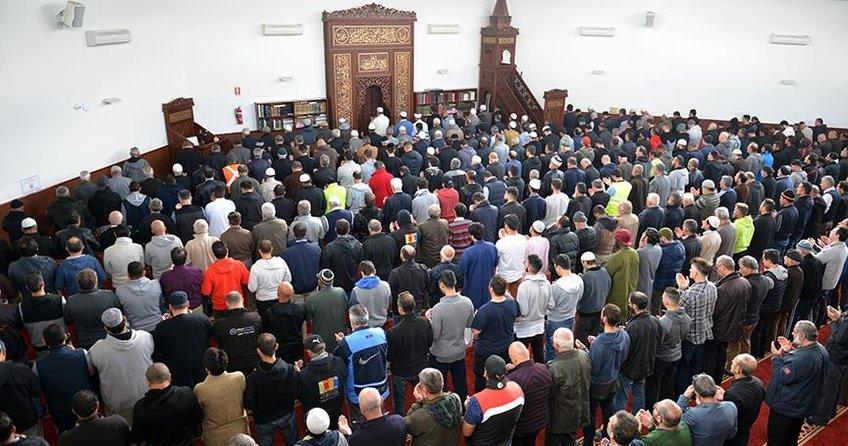 Avustralyada Filistinli şehitlere gıyabi cenaze namazı kılındı