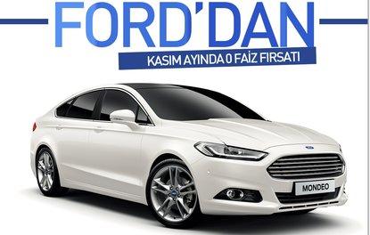 Ford'dan Kasım ayında 0 faiz fırsatı