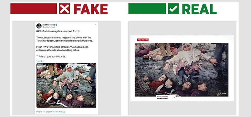 NEW YORK TIMES AUTHOR SHARES FAKE PHOTO TO SLANDER TURKEYS OPERATION PEACE SPRING