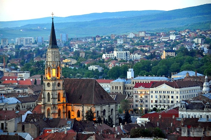 St. Michael Church in Romania's Cluj