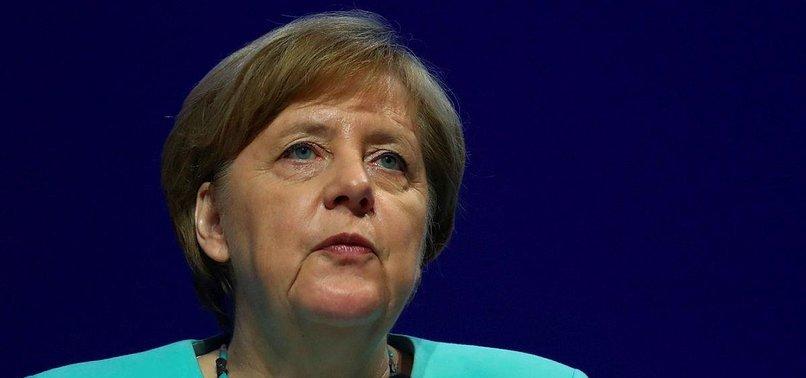 MERKEL CALLS FOR STRONGER EU AMID GLOBAL RIVALRIES