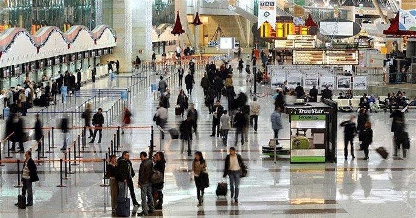 Havayoluyla seyahat edenlerin sayısı 150 milyona yaklaştı