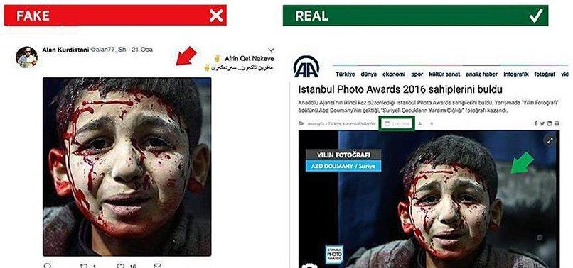 PYD/PKK TERROR GROUP MANIPULATES AFRIN OPERATION WITH AA PHOTOGRAPHS