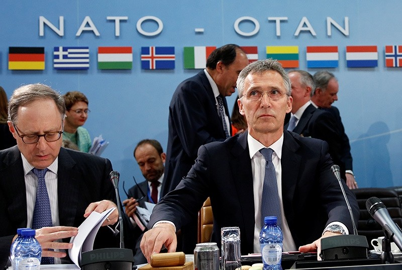 NATO Secretary-General Jens Stoltenberg chairs a NATO defence ministers meeting at the Alliance headquarters in Brussels, Belgium, June 14, 2016. (Reuters Photo)
