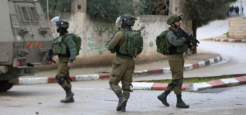ISRAEL DETAINS 53 PALESTINIANS IN WEST BANK RAIDS
