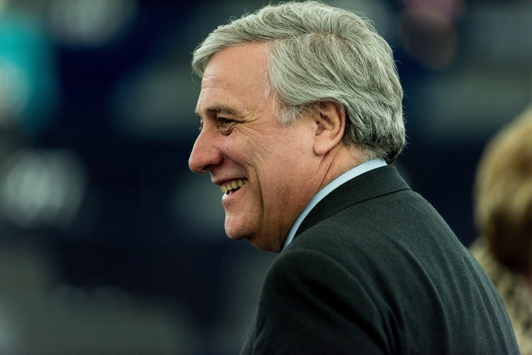 The Italian Antonio Tajani is to stand for the Group of the European People's Party (EPP) for the post of President of the Parliament. (EPA Photo)