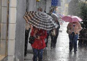 Meteoroloji'den o iller için sağnak yağış uyarısı