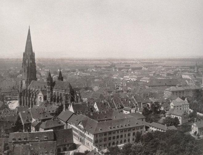 Freiburg manzarası