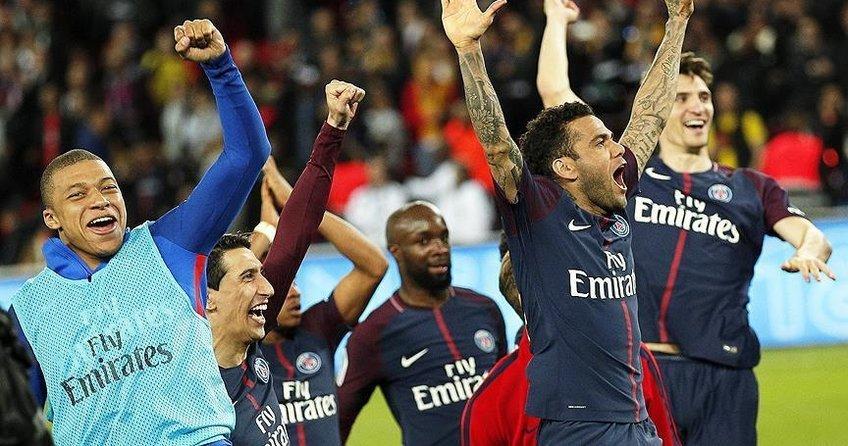 PSG, 7 golle 7. şampiyonluğa ulaştı
