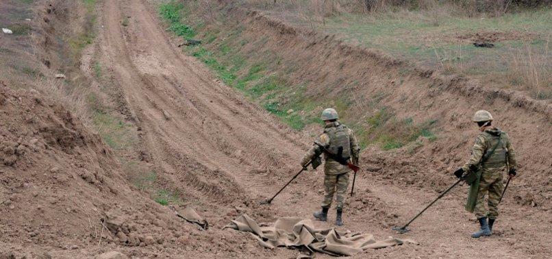 AZERBAIJAN: 4 DEAD IN MINE BLAST IN NEWLY RETAKEN REGION