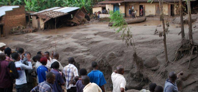 AT LEAST 34 DEAD AFTER UGANDA LANDSLIDE