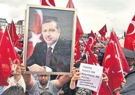 Almanya'da PKK'ya izin var Erdoğan'a yok!