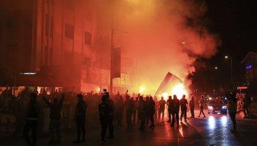 Fenerbahçe, Galibiyeti Coşkuyla Kutladı