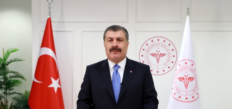 PEOPLE OVER AGE OF 45 STARTING TO BE VACCINATED AS OF THURSDAY, THOSE OVER 40 TO BE INCLUDED IN VACCINATION DRIVE NEXT MONDAY: TURKISH HEALTH MINISTER