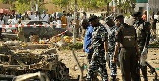 6 suicide bombers kill 20 in northeastern Nigeria