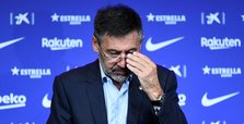 Bartomeu resigns as Barcelona president