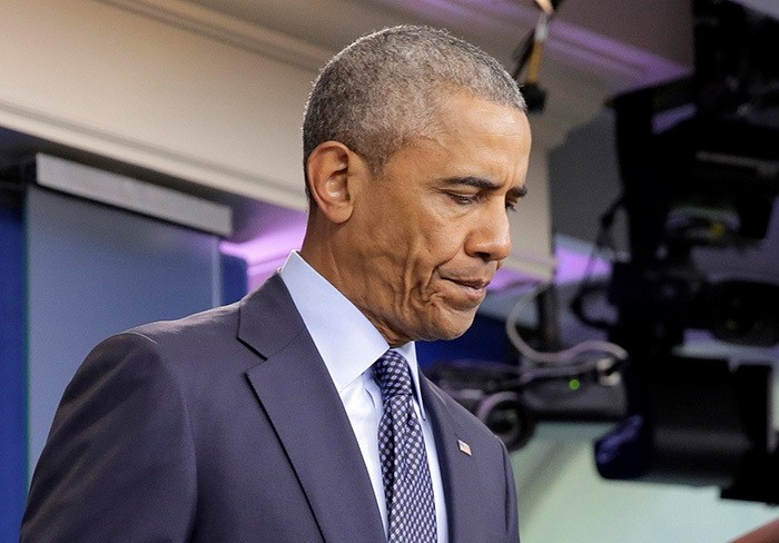 U.S. President Barack Obama speaks about the worst mass shooting in U.S. history that took place in Orlando, Florida, at the White House in Washington, U.S., June 12, 2016. (Reuters Photo)