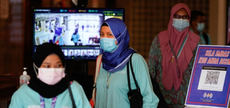 MALAYSIA REPORTS 1,240 NEW CORONAVIRUS CASES WITH SEVEN NEW DEATHS