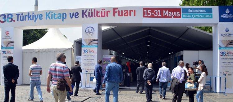 '38. Türkiye Kitap ve Kültür Fuarı' gece yarısına kadar açık