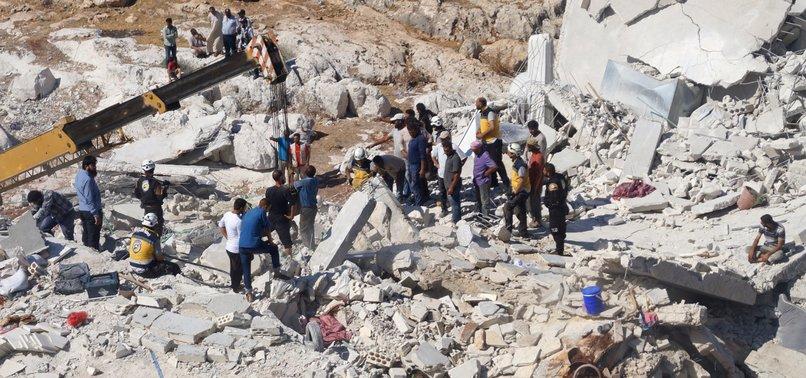 WEAPONS DEPOT BLAST IN SYRIAS IDLIB KILLS 39 CIVILIANS: MONITOR