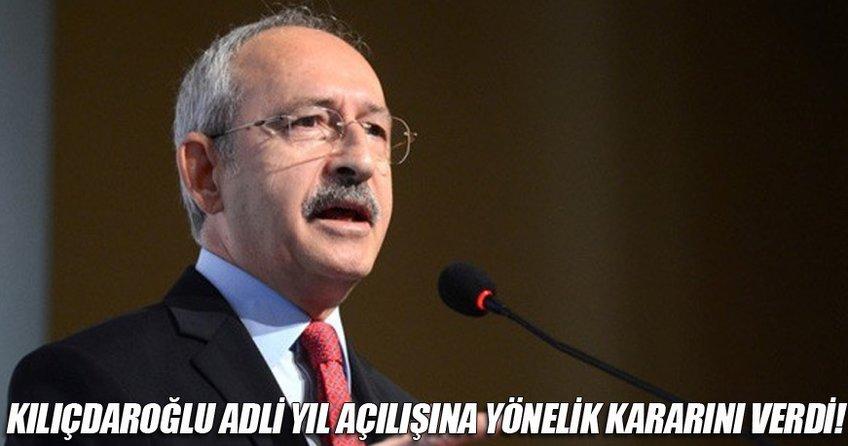 Kılıçdaroğlu Külliye'deki adli yıl açılışına katılmayacak