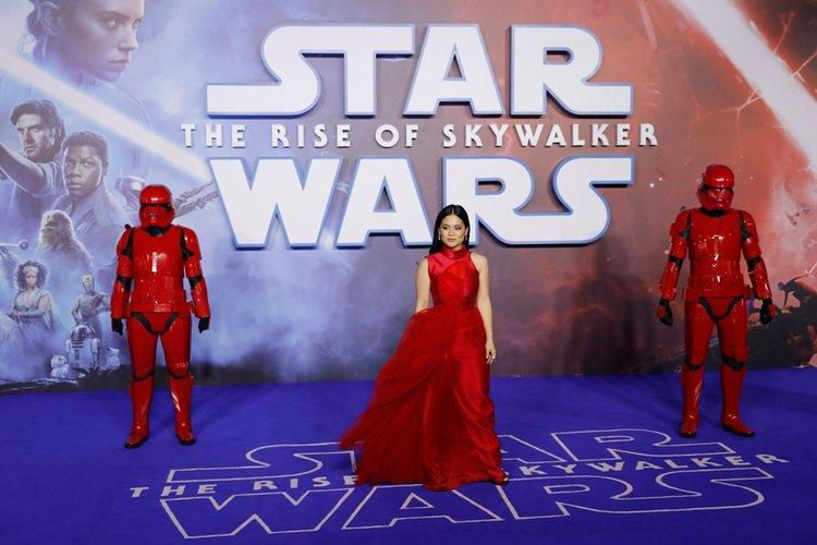 Kırmızı halıda 'Yıldız Savaşları'