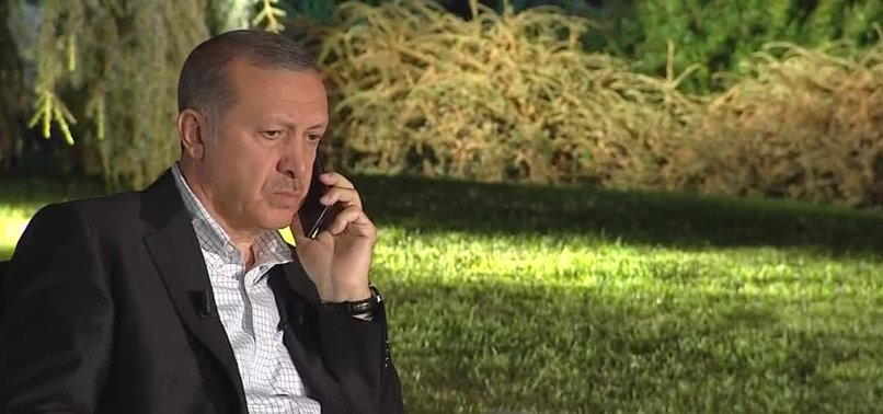 ERDOĞAN DISCUSSES REGIONAL ISSUES WITH HIS AZERBAIJANI AND UZBEK COUNTERPARTS OVER PHONE