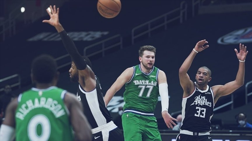 NBA REKORUNUN KIRILDIĞI MAÇTA MAVERİCKS, CLİPPERS'I FARKLI MAĞLUP ETTİ