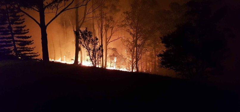 RUSSELL CROWES PROPERTY SCORCHED BY AUSTRALIAN BUSHFIRES