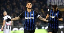 Inter beats Udinese 1-0 to end 7-match winless run