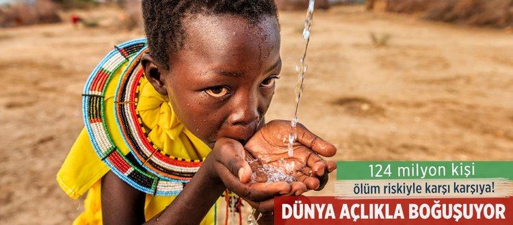 Dünyada 815 milyon kişi açlıkla mücadele ediyor!