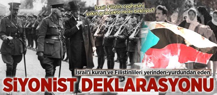 Siyonist deklarasyonu : 'Balfour Deklarasyonu'nun 100'üncü yılı'  (3 Kasım) :