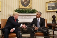Barack Obama passes the reins of the U.S. power to Donald Trump on Friday.