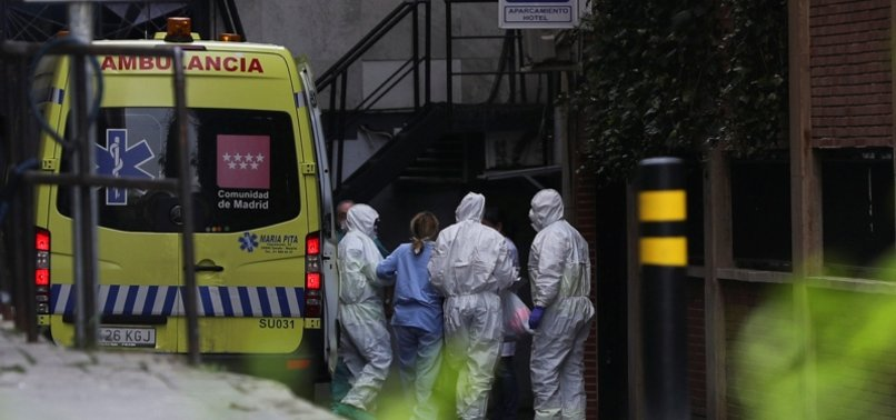 AMBULANCES CARRYING SICK PENSIONERS STONED IN SPAIN
